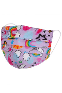 Unicorn Childs Fabric Face Covering