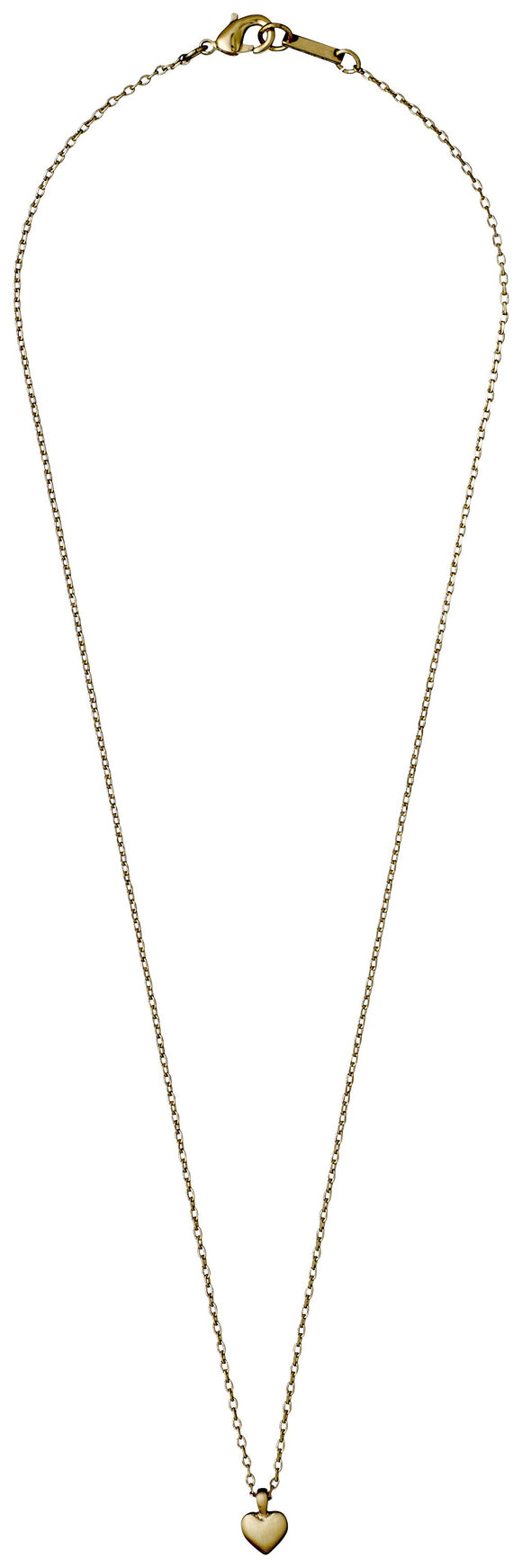 Sophia Heart Gold Necklace
