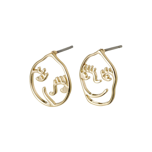 Debra Gold Earrings