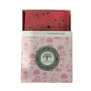 Patchouli Rose 100g Soap