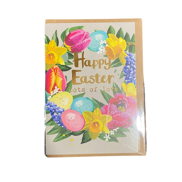 Happy Easter Lots of Love Easter Card