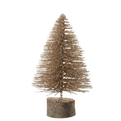 Champagne Glitter Tree Small