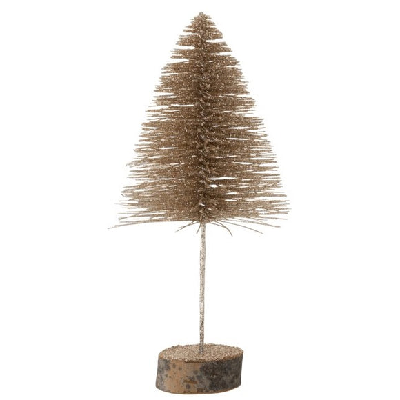 Champagne Glitter Tree Medium