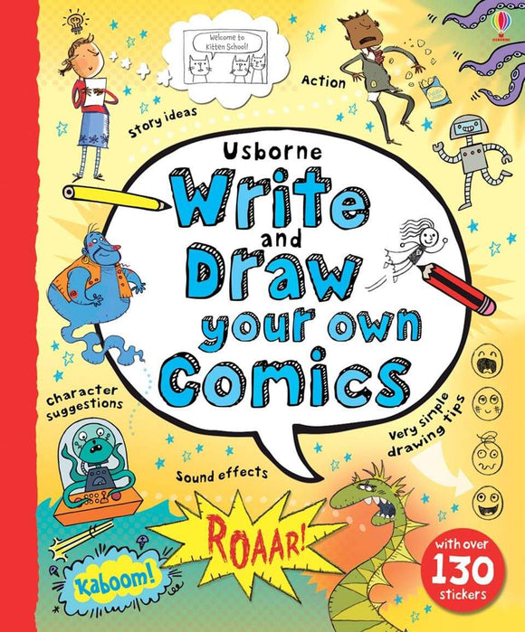 Write & Draw Your Own Comics