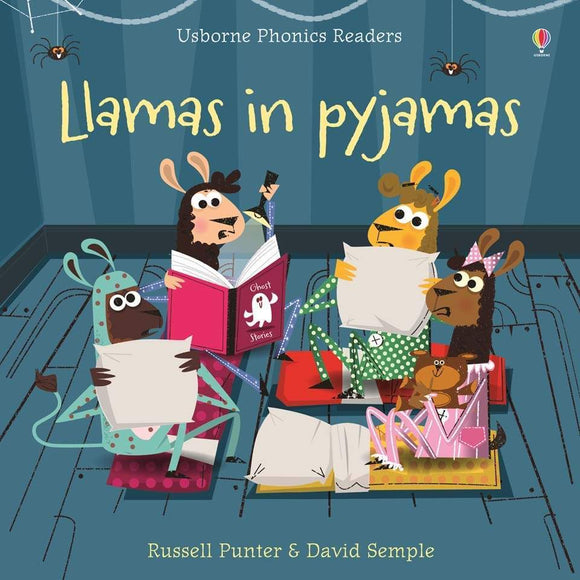 Llamas In Pyjamas Phonics Book