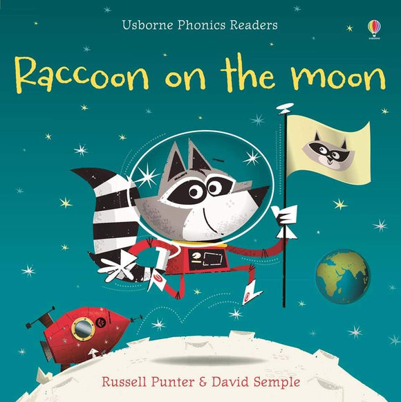 Raccoon On The Moon Phonics Book