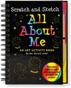 All About Me Scratch & Sketch
