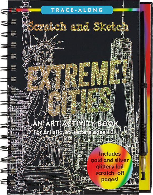 Scratch Sketch Extreme Cities