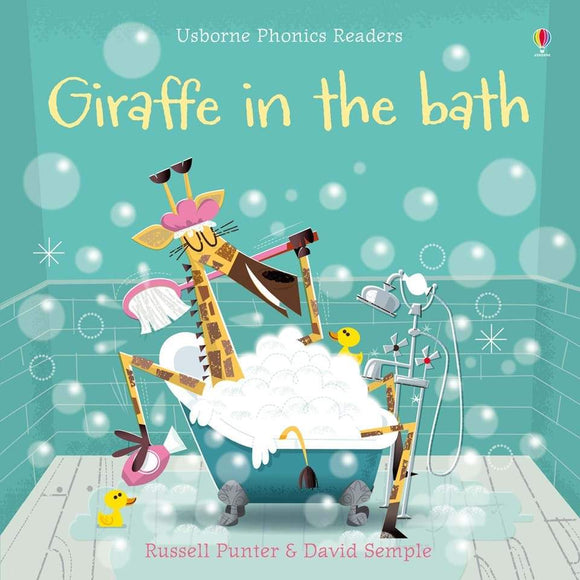 Giraffe in the Bath Phonics Book