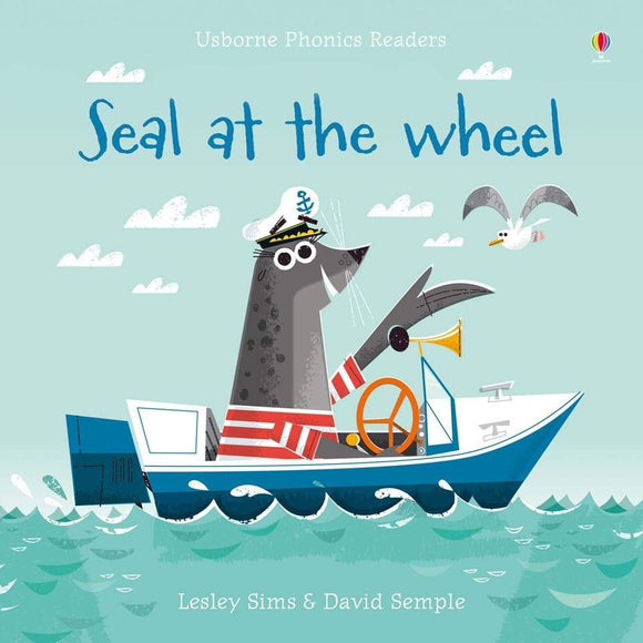 Seal at the Wheel Phonics Book