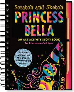 Princess Bella Scratch & Sketch
