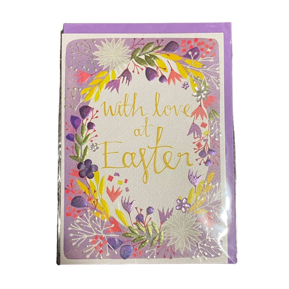 Springtime With Love at Easter Card