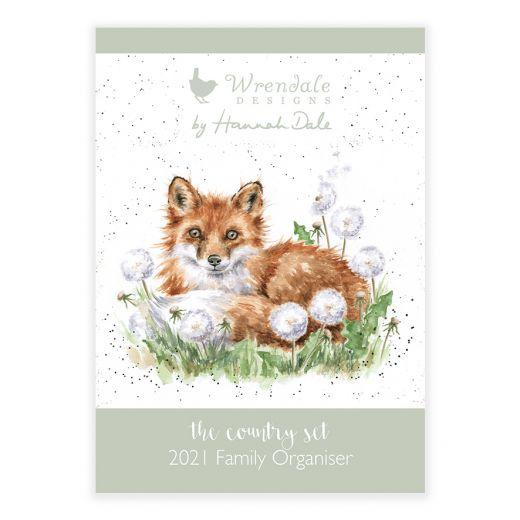 Wrendale Country Set Family Organiser 2021