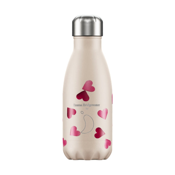 260ml Chilly's Bottle Emma Bridgewater Pink Hearts