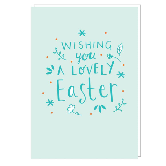 Wishing You A Lovely Easter Card