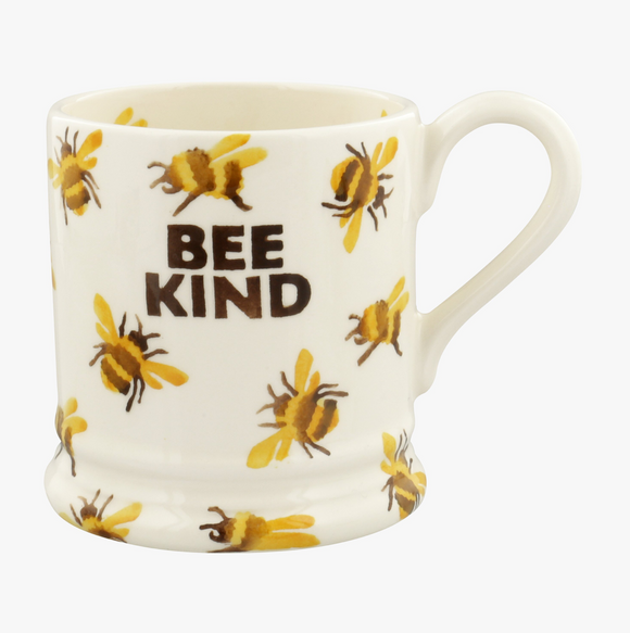 Insects Bee Kind Bumblebee 1/2 Pint Mug