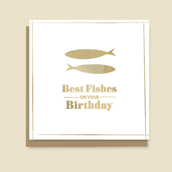 Best Fishes on your Birthday Card