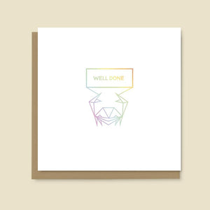 Crab Well Done Card