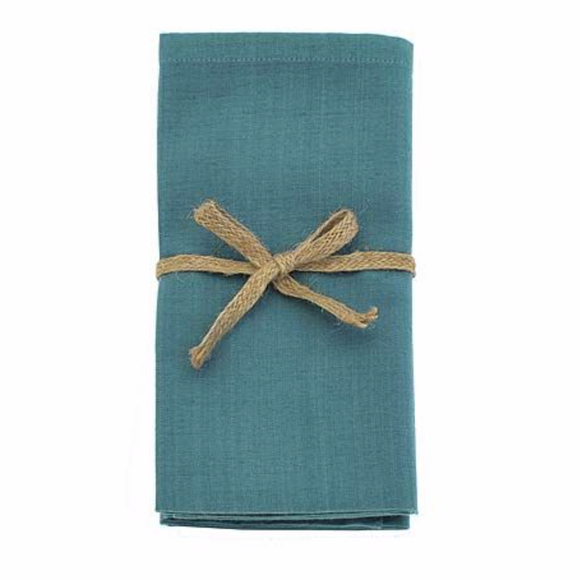 Lagoon Fabric Napkin Set of 4