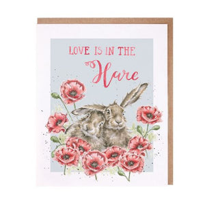 Love Is In The Hare Card
