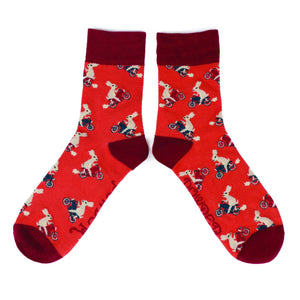 Racing Rabbits Mens Socks