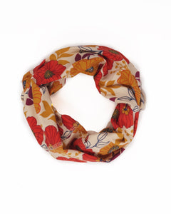 Autumn Floral Cream Multiway Band