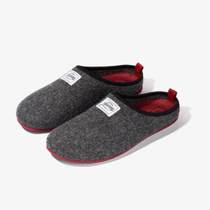 Mercredy Men's Slippers Black / Burgundy