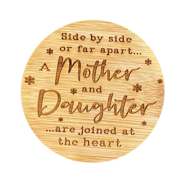 Mother & Daughter Side by Side Candle Lid