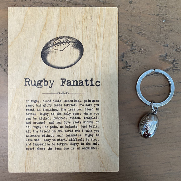 Rugby Letterbox Gift