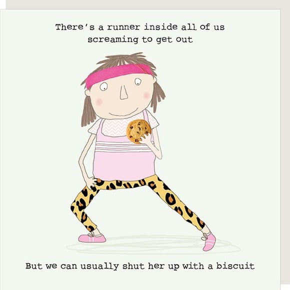 Runner Biscuit Card