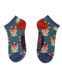 Foxy Trainer Socks