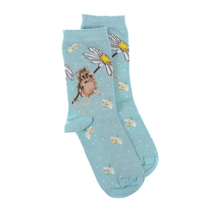 Oops a Daisy Mouse Ankle Socks.