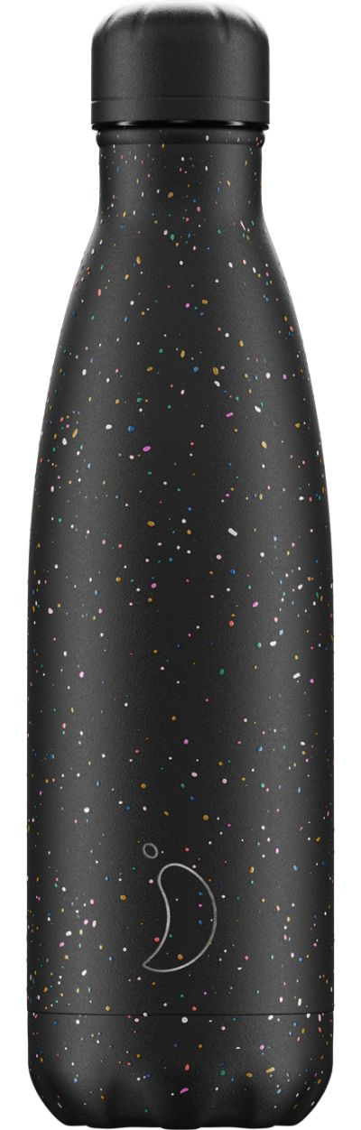 500ml Chilly's Bottle Speckle Black
