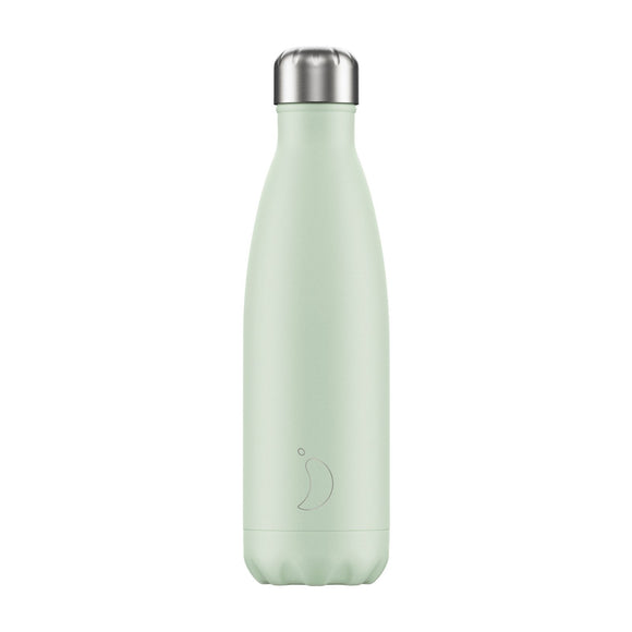 500ml Chilly's Bottle - Blush Green