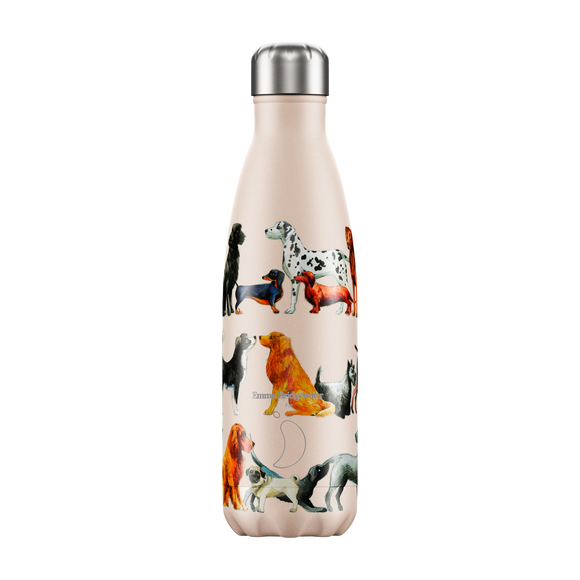 500ml Chilly's Bottle Emma Bridgewater Dogs
