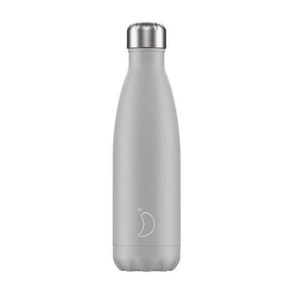 500ml Chilly's Bottle - Light Grey