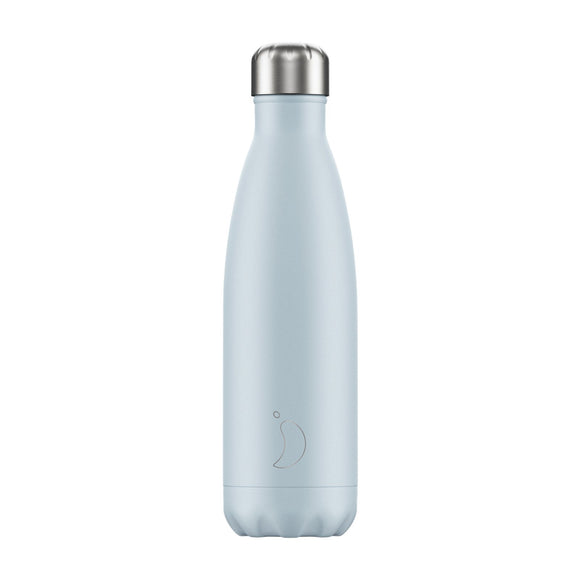 500ml Chilly's Bottle - Blush Blue
