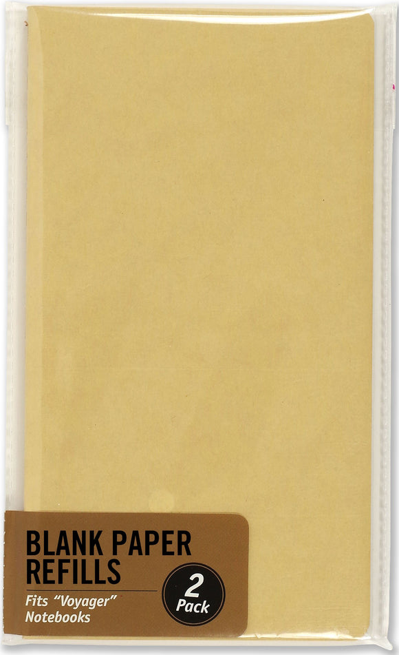 Voyager Journal Blank Paper Refill