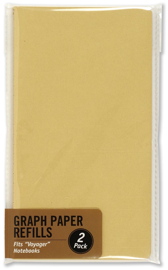 Voyager Journal Graph Paper Refill