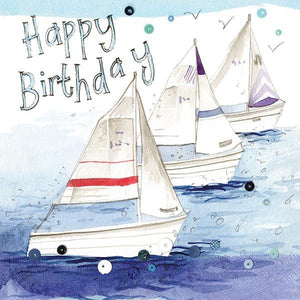 Sailing Birthday Card