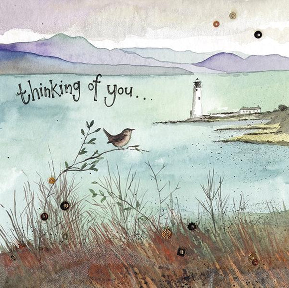 Seascape Thinking of You Card