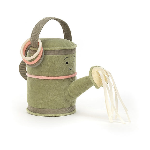 Jellycat Whimsy Garden Watering Can Activity Toy