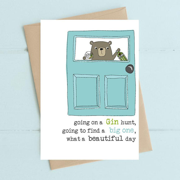 Gin Hunt Card