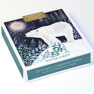 Winter Forest Christmas Card Pack of 20