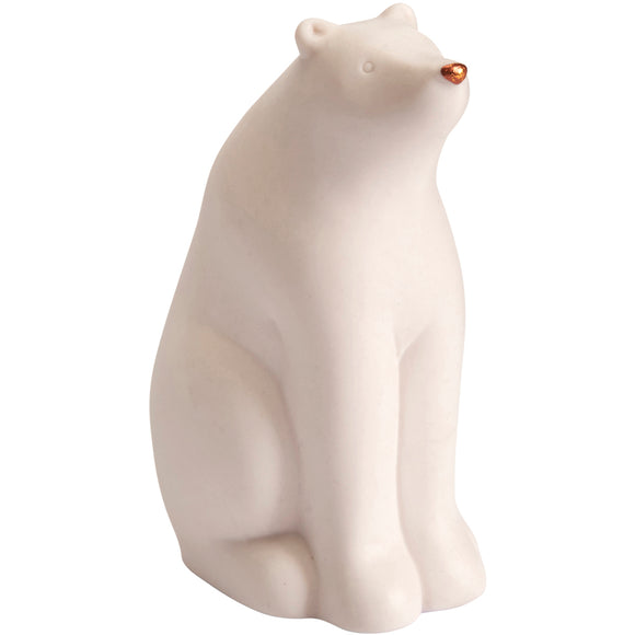 Small Ceramic Polar Bear