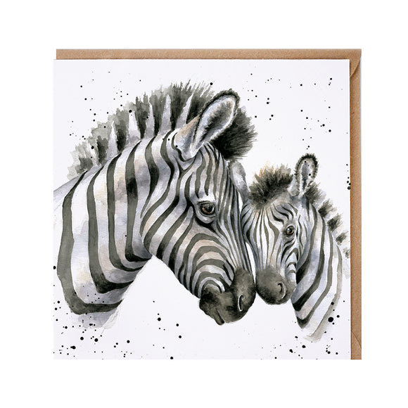 'Racing Stripes' Card
