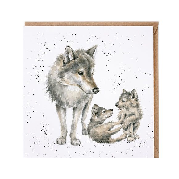 'Wolf Pack' Card
