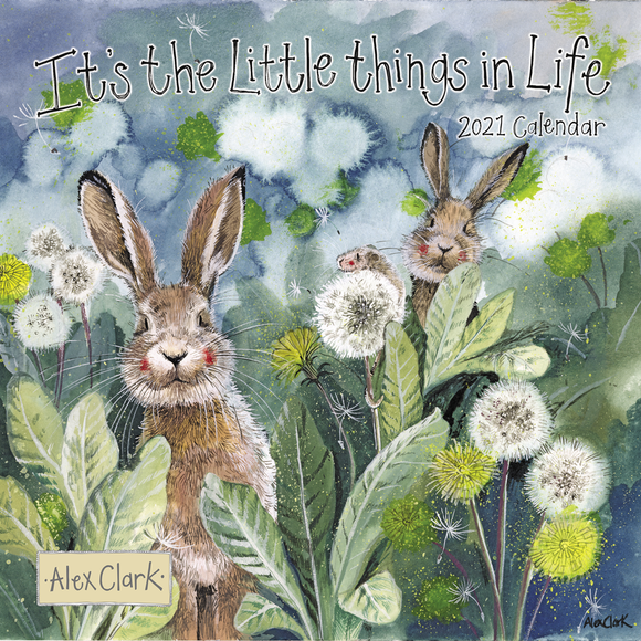 Alex Clark It's the Little Things in Life Calendar 2021