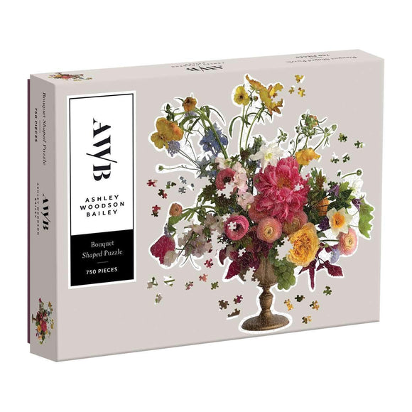 Ashley Woodson Bailey Floral 750 Piece Puzzle