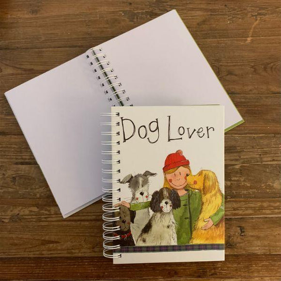 Dog Lover Spiral Journal